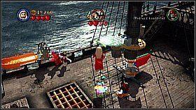 16 - Czarna Perła atakuje - opis przejścia - Klątwa Czarnej Perły - LEGO Piraci z Karaibów - poradnik do gry