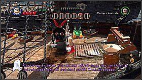 1 - Czarna Perła atakuje - butelki - Klątwa Czarnej Perły - LEGO Piraci z Karaibów - poradnik do gry