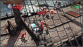 3 - Czarna Per�a atakuje - butelki - Kl�twa Czarnej Per�y - LEGO Piraci z Karaib�w - poradnik do gry