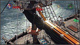 4 - Czarna Perła atakuje - butelki - Klątwa Czarnej Perły - LEGO Piraci z Karaibów - poradnik do gry