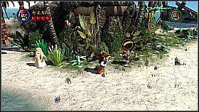 2 - Nora przemytników - opis przejścia - Klątwa Czarnej Perły - LEGO Piraci z Karaibów - poradnik do gry