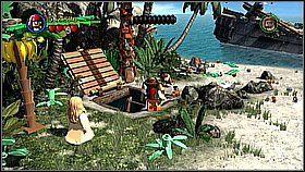 3 - Nora przemytników - opis przejścia - Klątwa Czarnej Perły - LEGO Piraci z Karaibów - poradnik do gry