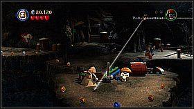 10 - Nora przemytników - opis przejścia - Klątwa Czarnej Perły - LEGO Piraci z Karaibów - poradnik do gry
