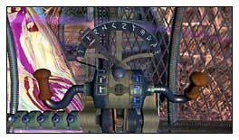 Dopiero kiedy wszystkie znaki były zaprogramowane, nacisnąłem duży, niebieski guzik na środku - Miasto w Przestworzach cz.2 - Schizm: Prawdziwe Wyzwanie - poradnik do gry