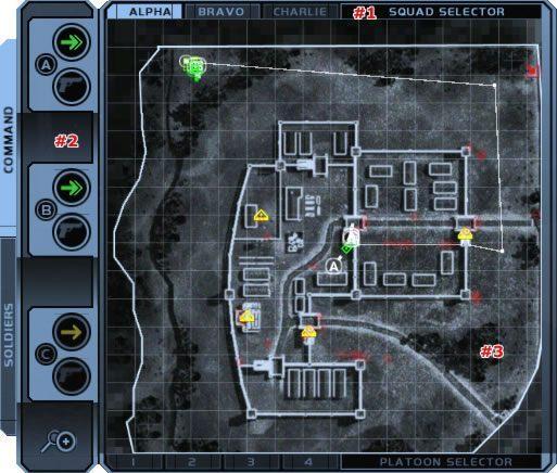 Przyjrzyjmy się teraz konkretnym rozkazom, które można nazwać po prostu zachowaniem się na polu walki - Dowodzenie - Podstawy - Tom Clancys Ghost Recon - poradnik do gry
