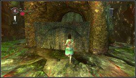 Wskakujemy na podwyższoną platformę po prawej - Oyster Garden- Beds Available (2) - Rozdział 2 - Deluded Depths - Alice: Madness Returns - poradnik do gry