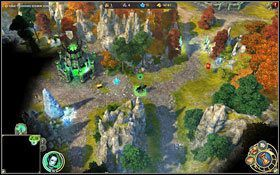 Ale szybko poszerzymy nasze terytorium. - 3 misja - Prze�wietlny �wit - Kampania - Might & Magic: Heroes VI - Nekropolia - poradnik do gry