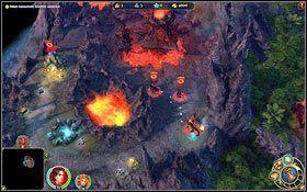 Obok naszego miasta znajdziemy oddzia� czart�w. - 3 misja - W g�szczach mroku - Kampania - Might & Magic: Heroes VI - Inferno - poradnik do gry