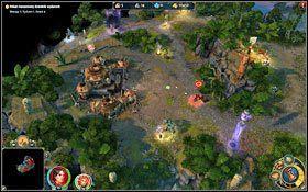 Oto i pierwsze miasto barbarzy�c�w. - 3 misja - W g�szczach mroku - Kampania - Might & Magic: Heroes VI - Inferno - poradnik do gry