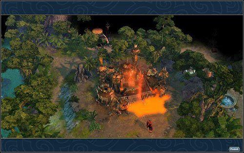 Nie ma to jak zapach siarki o poranku. - 3 misja - W g�szczach mroku - Kampania - Might & Magic: Heroes VI - Inferno - poradnik do gry