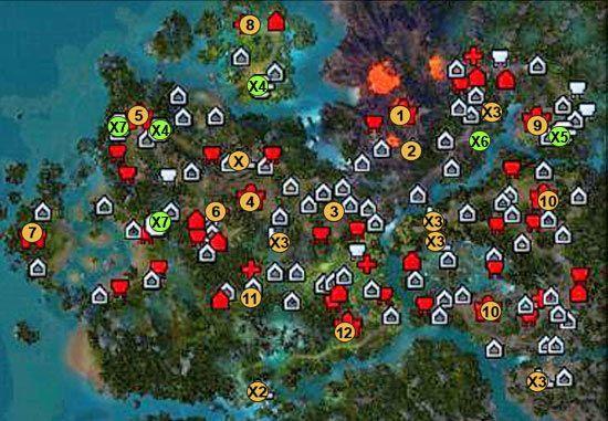 1 - lokacja startowa - 3 misja - mapy - Kampania - Might & Magic: Heroes VI - Inferno - poradnik do gry