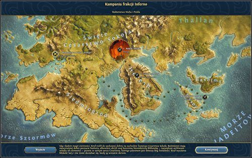 Pora na ostateczne starcie. - 4 misja - Ma��e�stwo nieba i piek�a - Kampania - Might & Magic: Heroes VI - Inferno - poradnik do gry