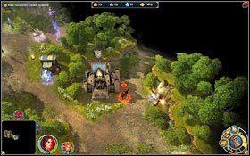 Dzi�ki fortowi b�dziemy mogli szybko przesy�a� posi�ki. - 4 misja - Ma��e�stwo nieba i piek�a - Kampania - Might & Magic: Heroes VI - Inferno - poradnik do gry
