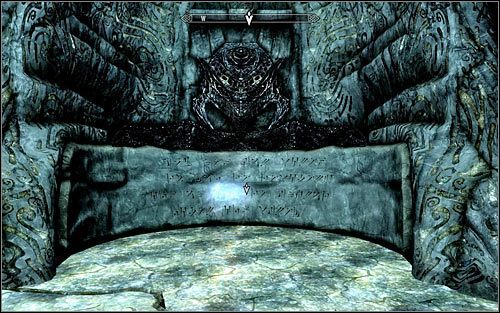 Ruszaj na zach�d, docieraj�c po kilku chwilach do ogromnej pieczary - Wyprawa do Czarnyg�azu (2) - Czarnyg�az - The Elder Scrolls V: Skyrim - g��wny w�tek fabularny - poradnik do gry