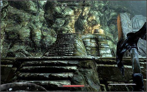 W celu opuszczenie Czarnyg�azu nie b�dziesz na szcz�cie musia� powraca� t� sam� drog� - Wyprawa do Czarnyg�azu (2) - Czarnyg�az - The Elder Scrolls V: Skyrim - g��wny w�tek fabularny - poradnik do gry