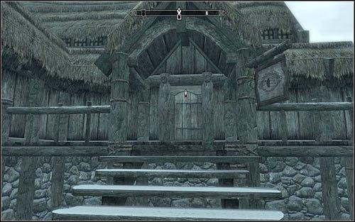 Lurbuk jest bardem w lokalnej Gospodzie Ustronna Przystań, znajdującej się w północno-zachodniej części wioski (powyższy screen) - Zlecenie- Zabij Lurbuka | Zadania Mrocznego Bractwa - The Elder Scrolls V: Skyrim - poradnik, mapy, questy