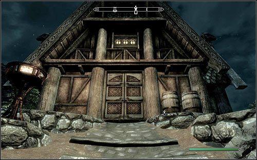 Zgodnie z sugestią z opisu zlecenia, mógłbyś zaczekać aż Anoriath opuści bramy miasta i wybierze się na polowanie, przy czym niestety myśliwy rzadko się na takie coś zdecyduje - Zlecenie- Zabij Anoriatha | Zadania Mrocznego Bractwa - The Elder Scrolls V: Skyrim - poradnik, mapy, questy