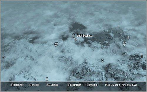 W celu odblokowania tego zadania musisz w rozmowie z Nazirem poprosić go o nowe zlecenia - Zlecenie- Zabij Deekusa   Zadania Mrocznego Bractwa - The Elder Scrolls V: Skyrim - poradnik, mapy, questy