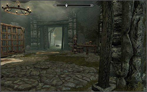 Zachowaj ostrożność, bo powinieneś znaleźć się w pomieszczeniu z jednym z bandytów (powyższy screen) - Zlecenie- Zabij Agnis   Zadania Mrocznego Bractwa - The Elder Scrolls V: Skyrim - poradnik, mapy, questy
