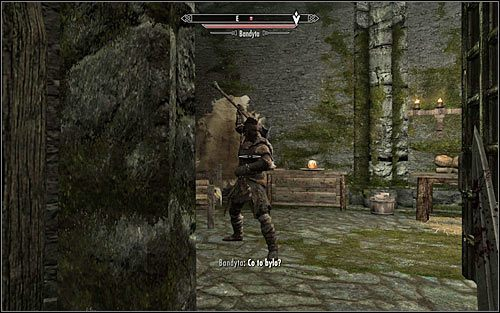 Możesz już ostrożnie zbliżyć się do drzwi sypialni służącej - Zlecenie- Zabij Agnis   Zadania Mrocznego Bractwa - The Elder Scrolls V: Skyrim - poradnik, mapy, questy