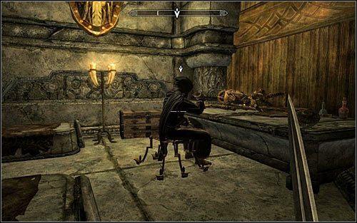 Zachowaj ostrożność, bo znalazłeś się w komnacie maga Malurila - Zlecenie- Zabij Malurila | Zadania Mrocznego Bractwa - The Elder Scrolls V: Skyrim - poradnik, mapy, questy
