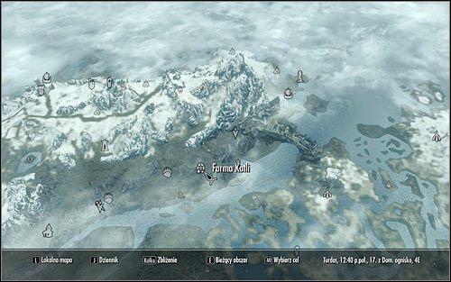 Где находится рифтен на карте в скайриме
