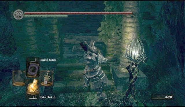 dark souls how to get to the royal wood
