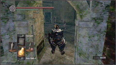 2 - Undead Burg (2) - Opis przej�cia - Dark Souls - poradnik do gry