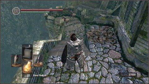 7 - Undead Burg (2) - Opis przej�cia - Dark Souls - poradnik do gry