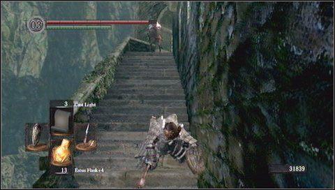 9 - Undead Burg (2) - Opis przej�cia - Dark Souls - poradnik do gry