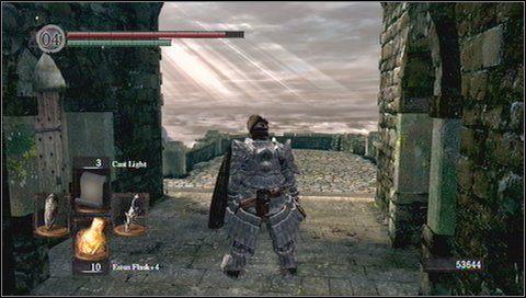 1 - Undead Burg - most z Wywerną - Opis przejścia - Dark Souls - poradnik do gry