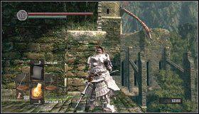7 - Undead Burg - most z Wywerną - Opis przejścia - Dark Souls - poradnik do gry