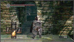 8 - Undead Burg - most z Wywerną - Opis przejścia - Dark Souls - poradnik do gry