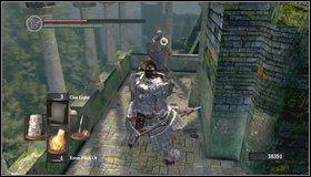 Idziemy w przeciwną stronę - Undead Parish (1) - Opis przejścia - Dark Souls - poradnik do gry