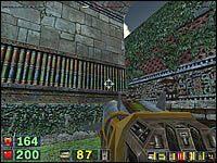 Sekret #2: Trzymając się dalej prawej strony miniesz budynek z kolumnami - Misja 3: The City of the Gods - Serious Sam: Drugie Starcie - poradnik do gry