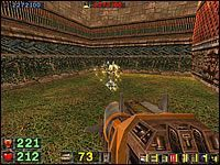 Sekret #1: Zaraz po rozpoczęciu poziomu, na pierwszym placu, skręć w prawo - Misja 4: Serpent Yards - Serious Sam: Drugie Starcie - poradnik do gry