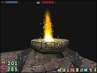 Sekret #7: Będąc na tej samej wieży, co przy sekrecie #6, przejdź na drugą półkę z lampami, ale ich nie niszcz - Misja 5: The Pit - Serious Sam: Drugie Starcie - poradnik do gry
