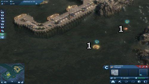Na skutek awarii Hydroelektrowni, na okolicznych wodach pojawia się Arka samego Rufusa Thornea, prezesa Global Trust - Misja II - Stan wyjątkowy | Rozdział 1 - Cienie przeszłości | Anno 2070 - Anno 2070 - poradnik do gry