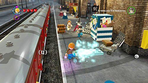 Drogę pokazuje nam Prawie Bezgłowy Nick - Widmookulary - Opis przejścia - Rok 6 - LEGO Harry Potter: Lata 5-7 - poradnik do gry