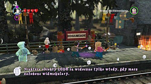 Na samym peronie spotkamy Lunę, która pokazuje nam nową magiczną zabawkę - Widmookulary - Opis przejścia - Rok 6 - LEGO Harry Potter: Lata 5-7 - poradnik do gry