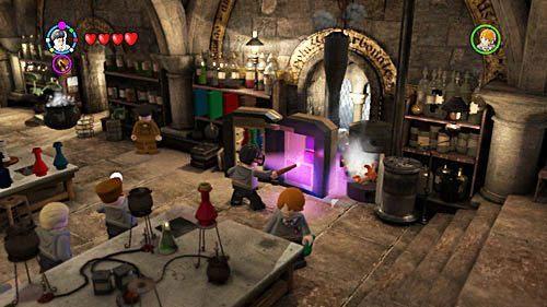 Składamy z nich szafę i otwieramy ją - Lekcja 3 - Wywar Żywej Śmierci - Opis przejścia - Rok 6 - LEGO Harry Potter: Lata 5-7 - poradnik do gry