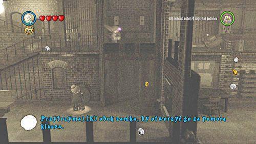 Opiekunką otwieramy zamek, Dumbledor sam przejdzie na drugą stronę - Odwiedziny u małego Toma Riddlea - Opis przejścia - Rok 6 - LEGO Harry Potter: Lata 5-7 - poradnik do gry
