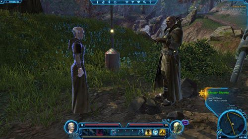 Udaj się na zachód do Lower Kaleth - (L04) Lovers and Secrets | Tython - Star Wars: The Old Republic - poradnik do gry