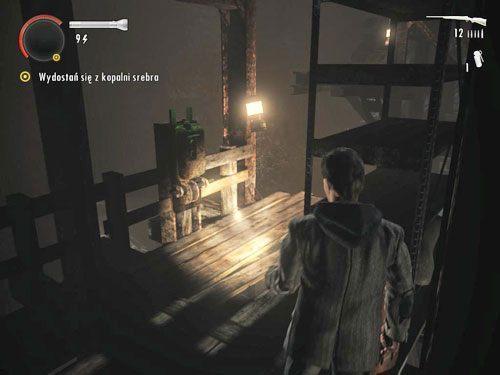 Gdy znajdziesz się po drugiej stronie szybu, wejdź po znajdującej się tam drabinie - Mirror Peak (3) - Odcinek 3- Okup - Alan Wake - PC - poradnik do gry