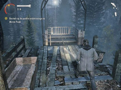 Podjedzie do Ciebie wagonik - Mirror Peak (4) - Odcinek 3- Okup - Alan Wake - PC - poradnik do gry