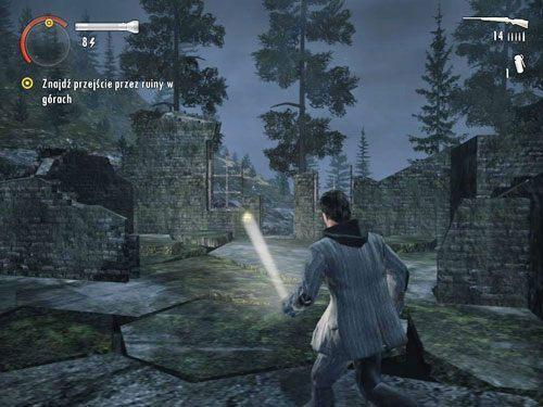 Wejdź do ruin przez piwnicę - Mirror Peak (4) - Odcinek 3- Okup - Alan Wake - PC - poradnik do gry
