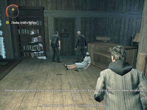 Gdy wejdziesz do pokoju, włączy się kolejny przerywnik filmowy - Cauldron Lake Lodge (1) - Odcinek 4- Prawda - Alan Wake - PC - poradnik do gry