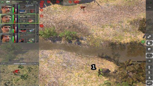 Z punktu widzenia pocz�tkowej fazy gry, Farma jest bardzo istotnym etapem rozgrywki - Na dobry pocz�tek - Farma - Lokacje - Jagged Alliance: Back in Action - poradnik do gry