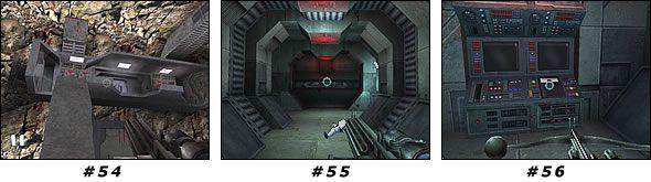 Wejdź przez drzwi do miejsca, skąd wybiegli żołnierze i zajmij się ich kolegami - Misja 04: Artus Detention Area - Star Wars Jedi Knight II: Jedi Outcast - poradnik do gry