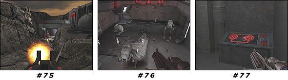 Przygotuj granaty - b�d� potrzebne, gdy� czeka Ci� przeprawa z niema�� grupk� �o�nierzy - Misja 05: Artus Topside - Star Wars Jedi Knight II: Jedi Outcast - poradnik do gry